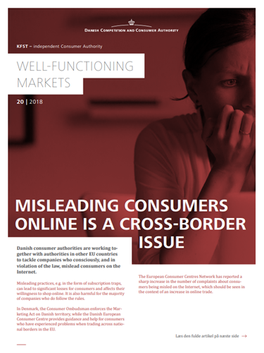 misleading consumers online is  a cross border issue